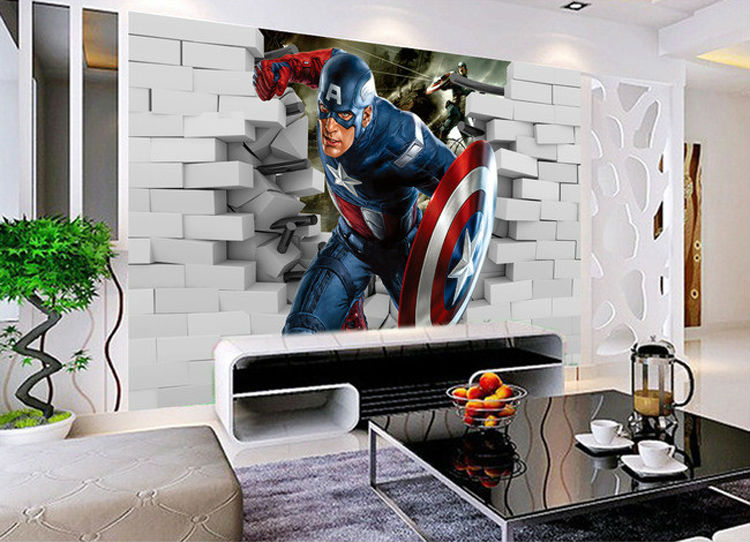 Download Avengers Room Wallpaper Gallery