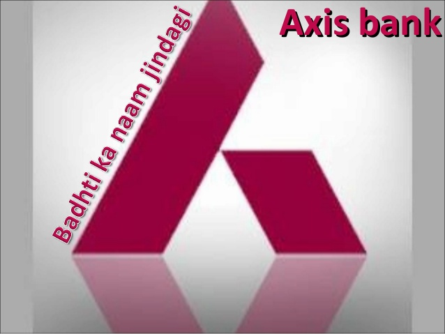 axis bank earlier name