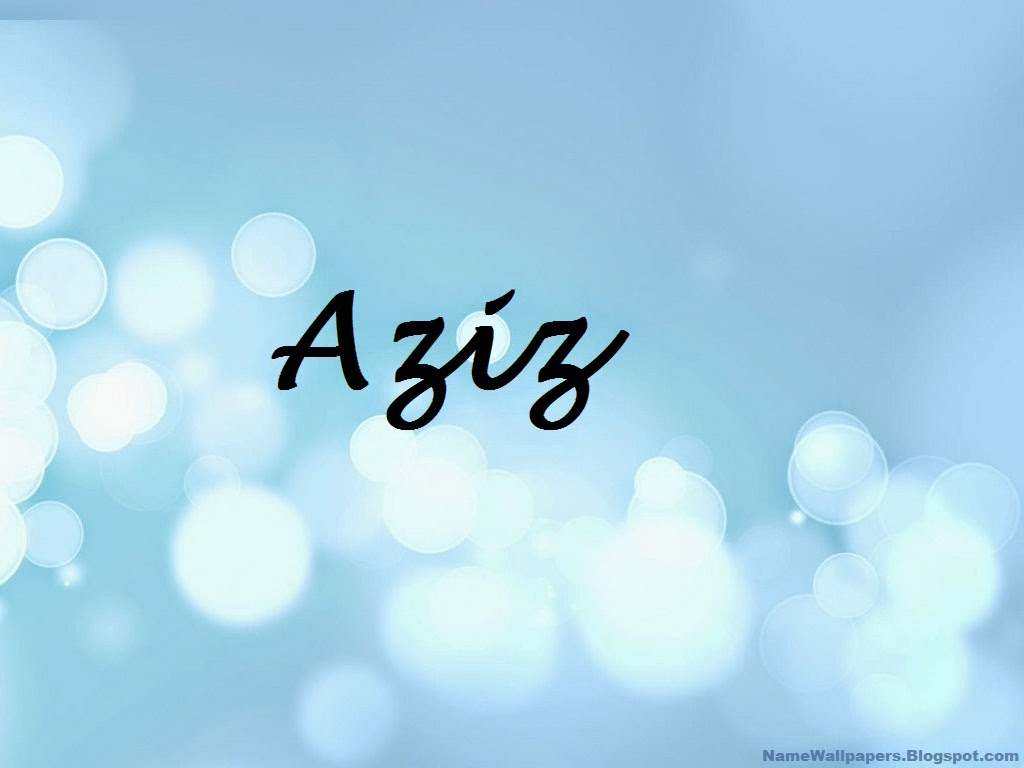 Aziz Name Wallpaper