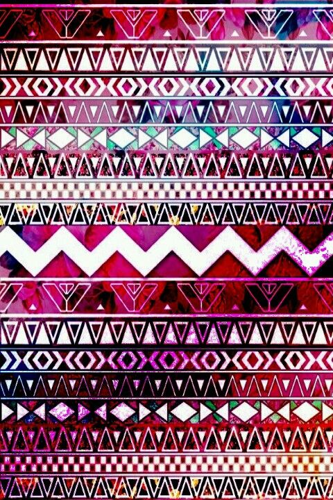 Aztec Patterns Wallpaper