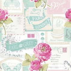 B And Q Pink Wallpaper