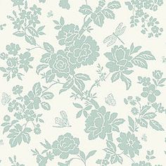 B&Amp;Q Wallpaper Duck Egg Blue