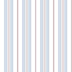 Baby Blue And White Striped Wallpaper