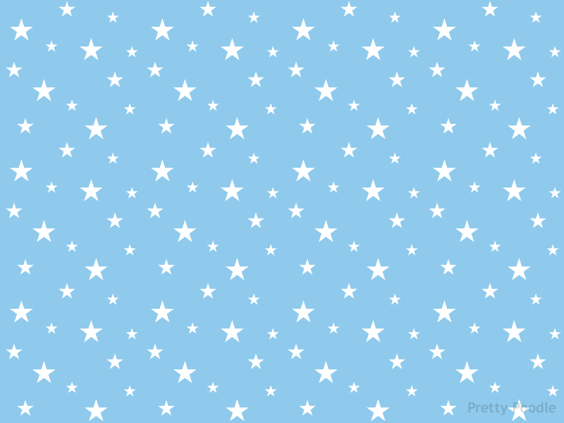 Baby Blue Star Wallpaper