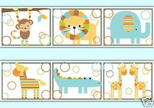Baby Boy Nursery Wallpaper Border