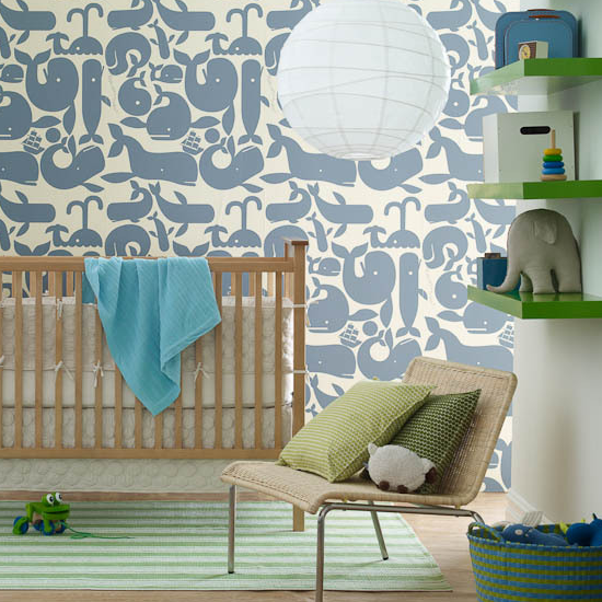 Baby Boy Nursery Wallpaper Uk