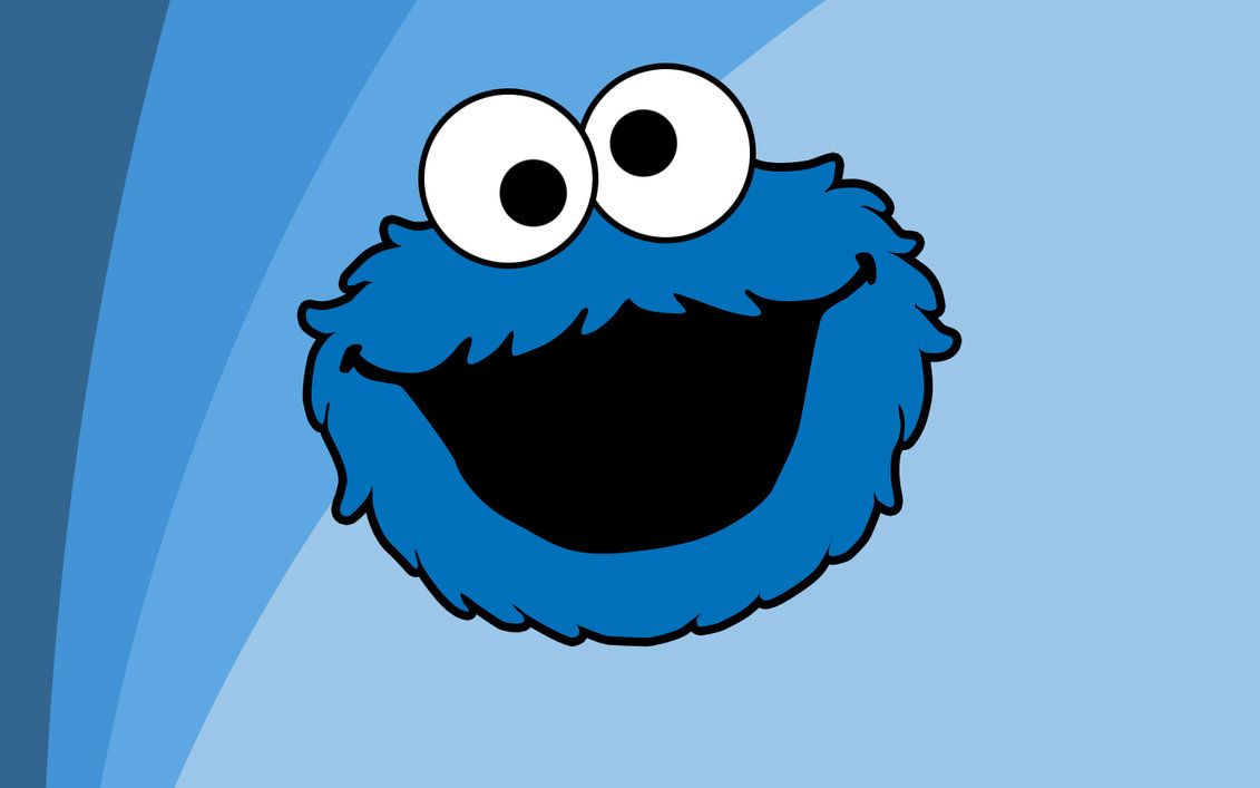 Baby Cookie Monster Wallpaper