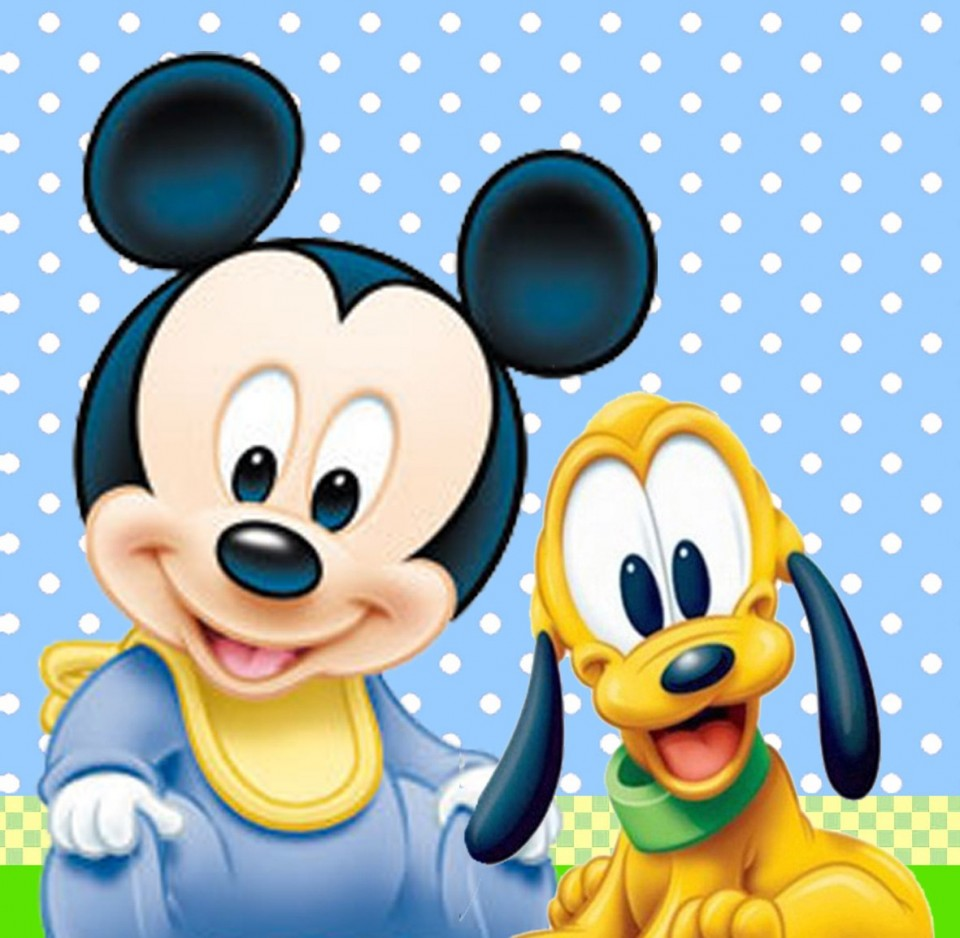 Baby Mickey And Minnie Mouse Wallpaper