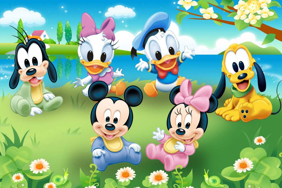 Mercedes Benz Long Beach >> Download Baby Mickey And Minnie Wallpaper Gallery