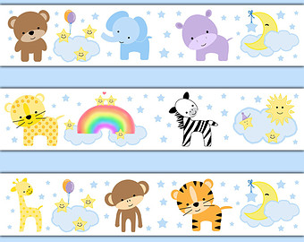 Baby Nursery Borders Wallpaper Gallery