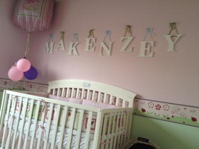 Baby Nursery Wallpaper Border