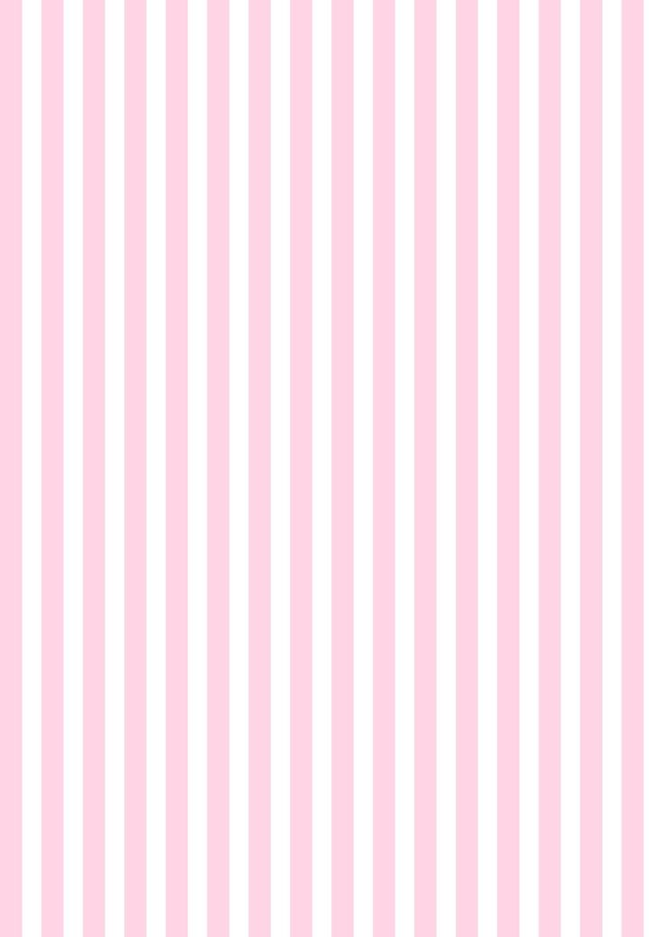 Baby Pink Striped Wallpaper