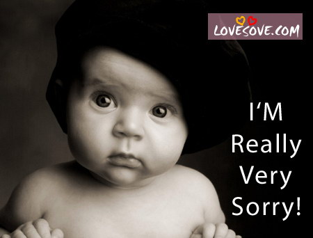 Baby Saying Sorry Wallpapers