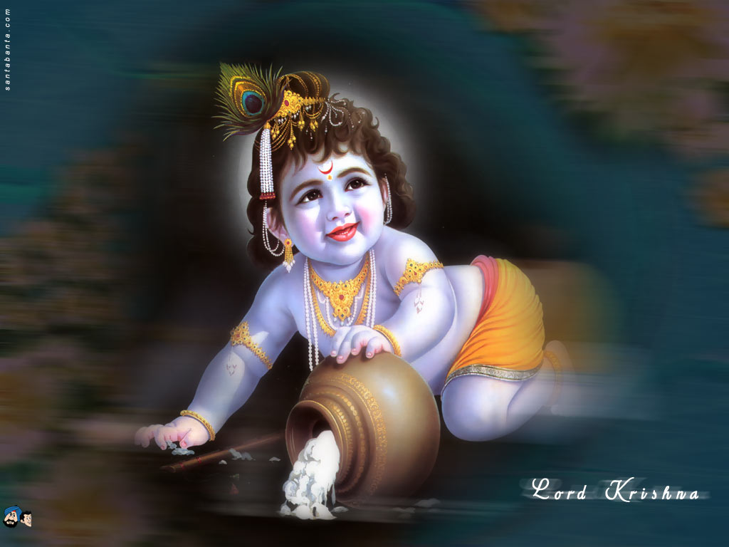 Baby Sri Krishna Wallpapers