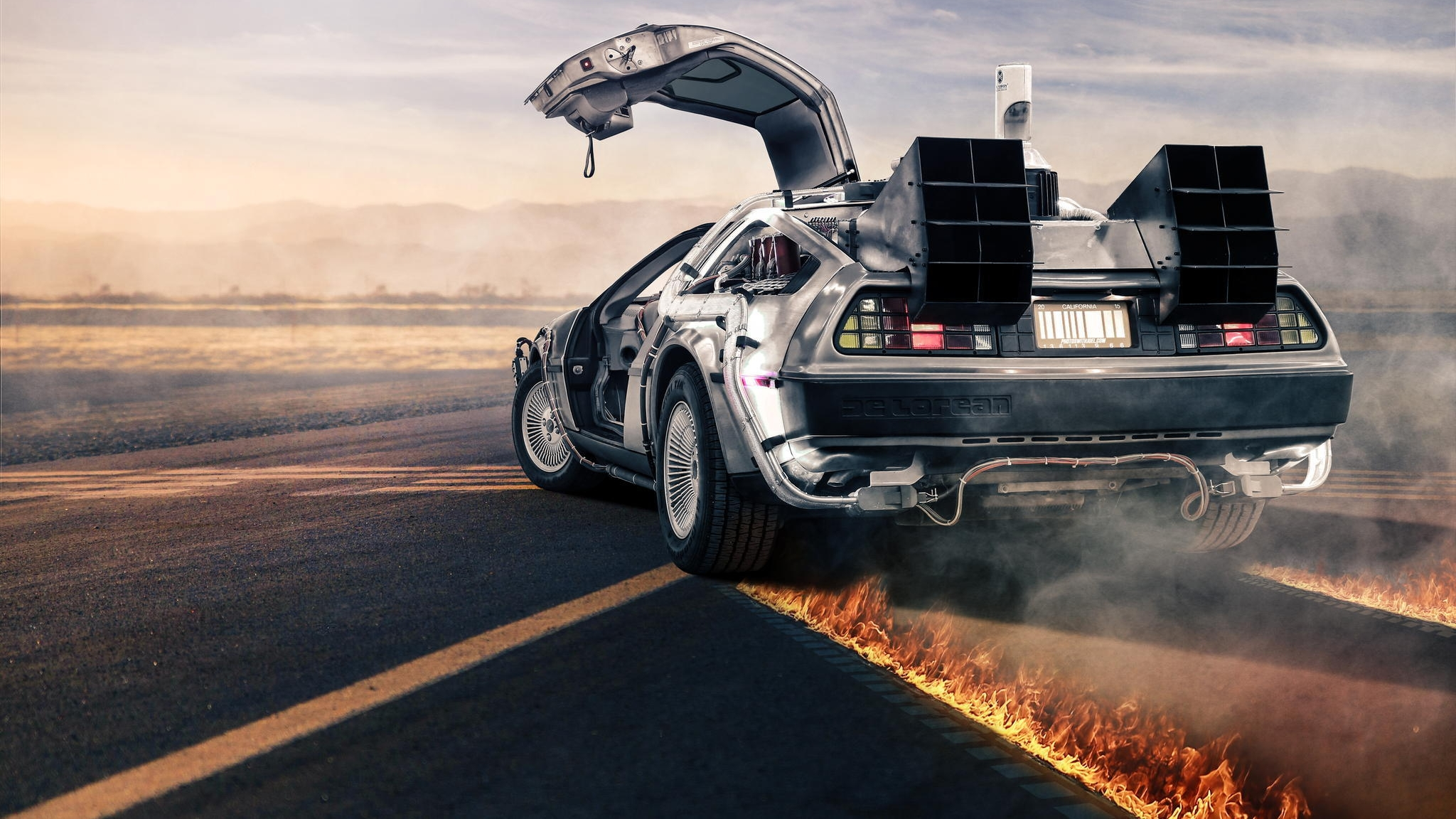 Back To The Future HD Wallpaper