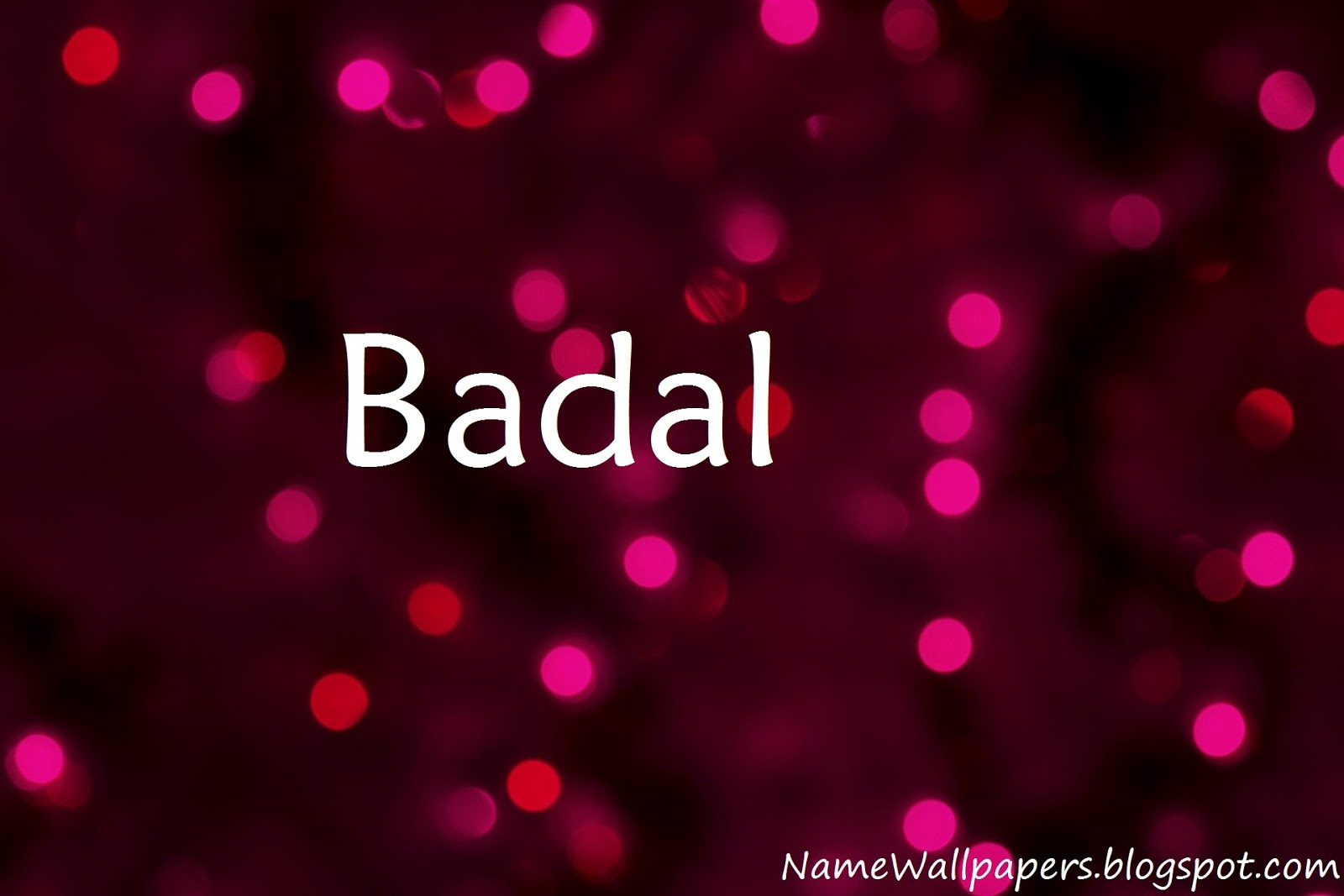 Download Badal Name Wallpaper Gallery