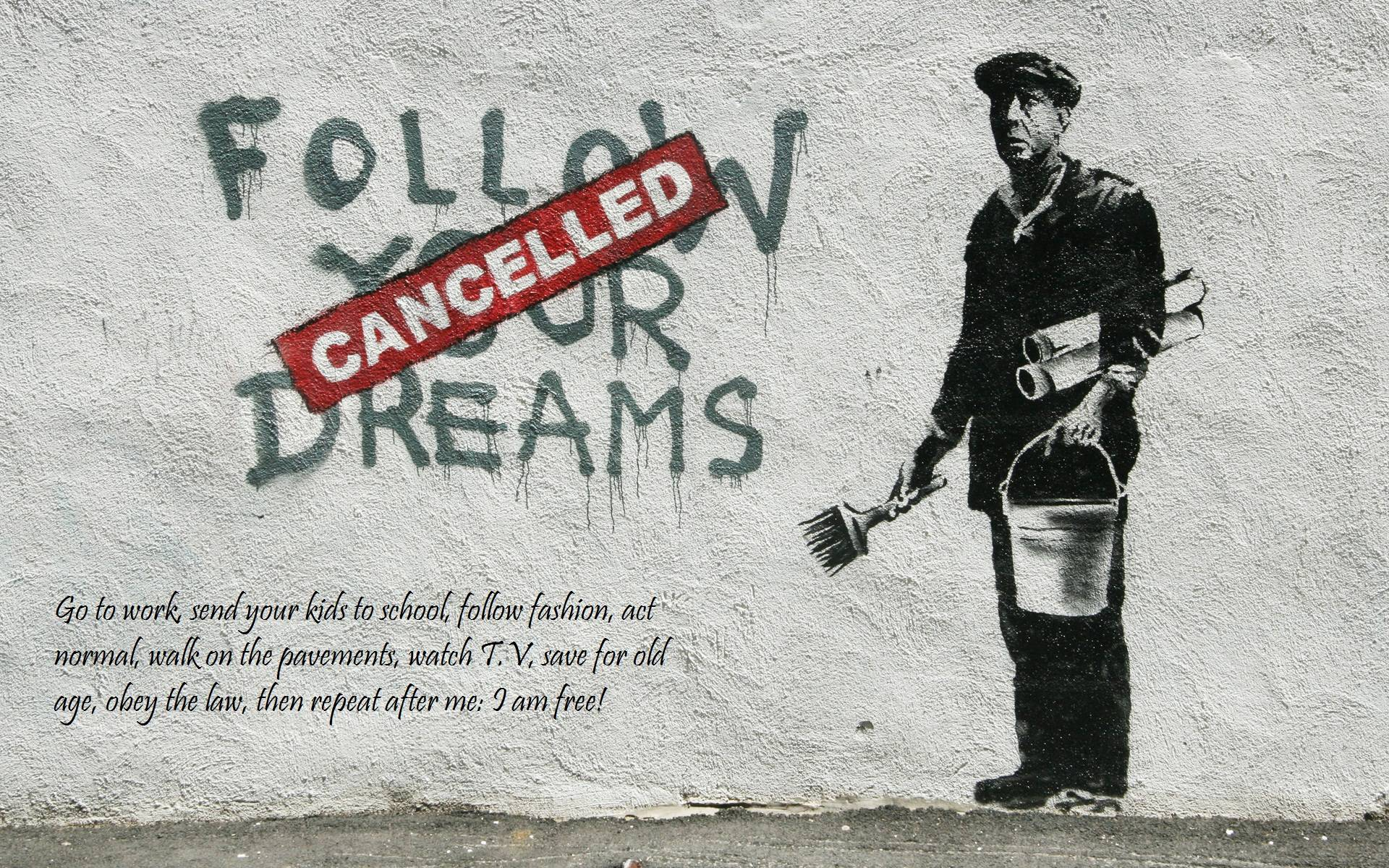 Banksy Art Wallpaper