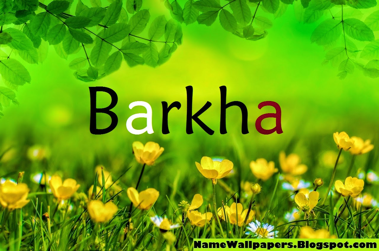 Barkha Name Wallpaper