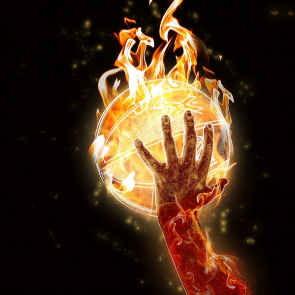 Basketball 3D Wallpaper