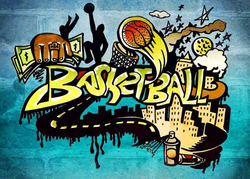 Basketball Graffiti Wallpapers