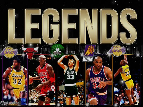 Basketball Legends Wallpaper