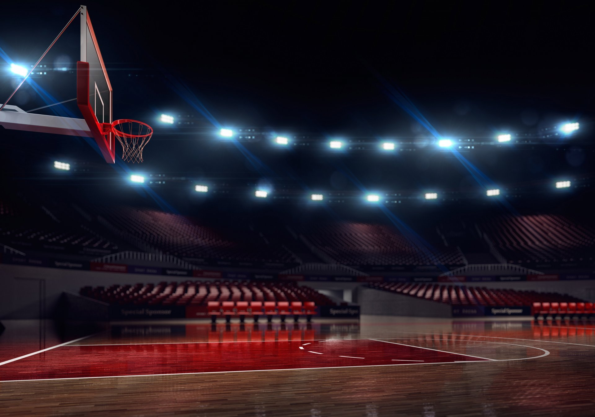 Basketball Stadium Wallpaper