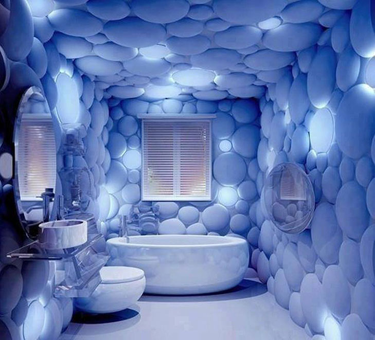Bathroom Wallpaper India