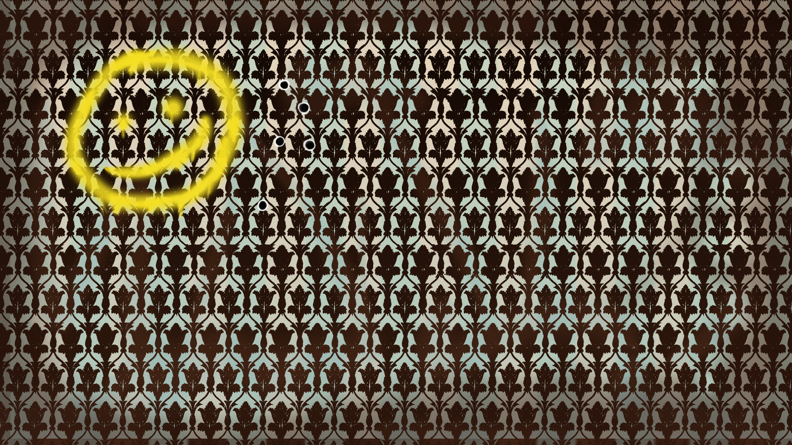 Bbc Sherlock Wallpaper With Smiley Face