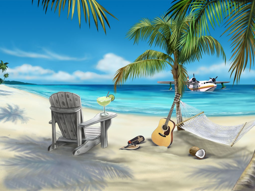 Beach Animated Wallpaper