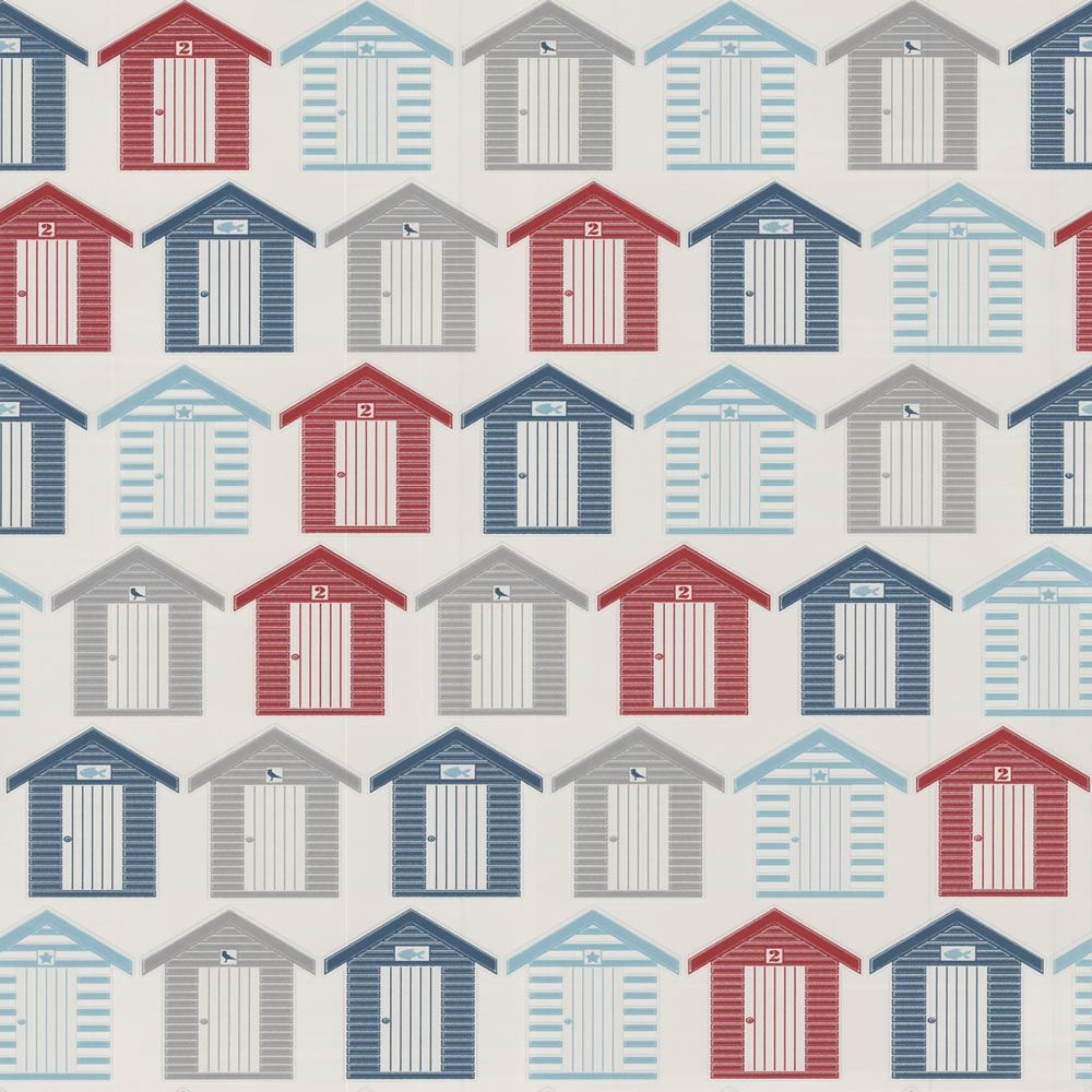 Beach Hut Wallpaper For Walls