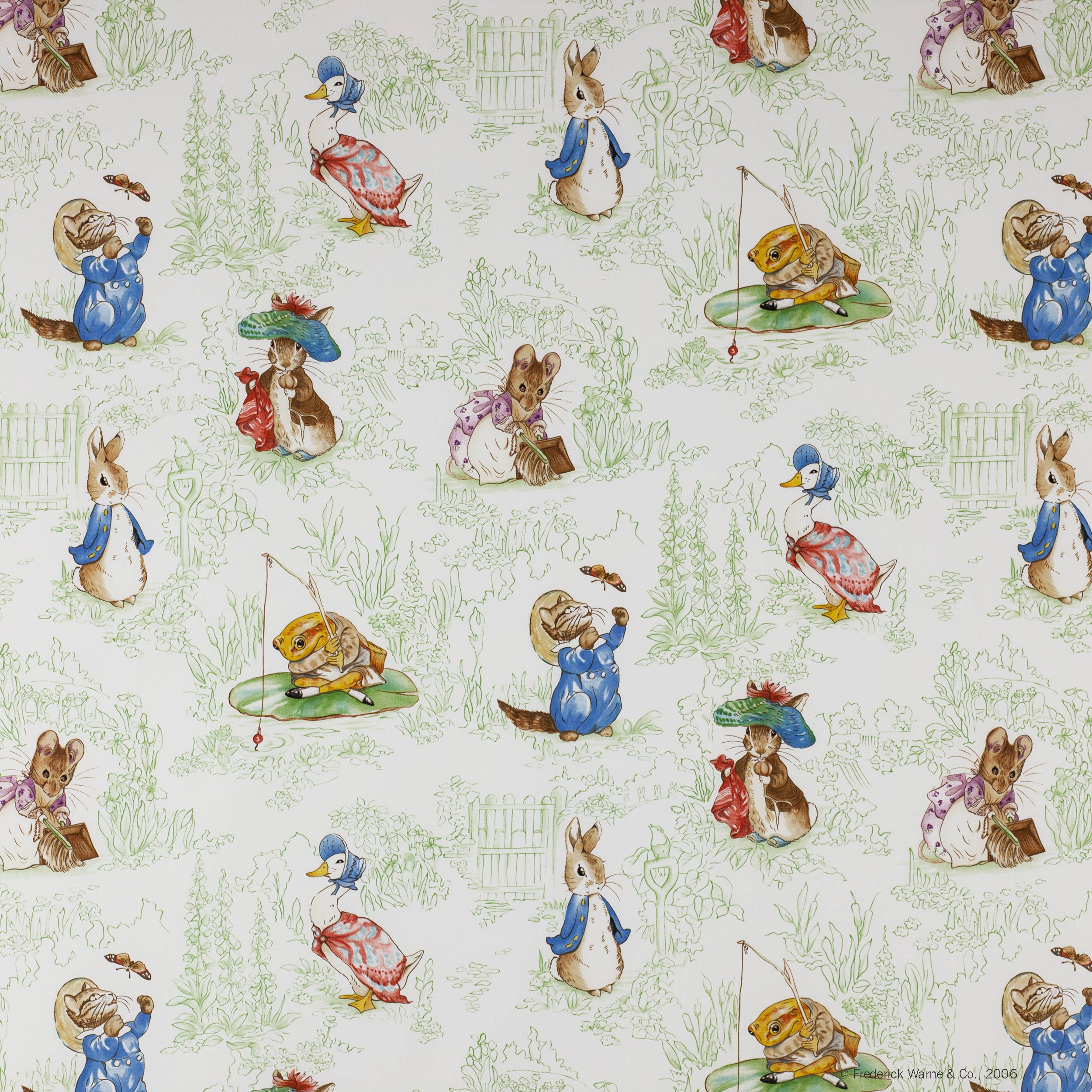 Beatrix Potter Wallpaper