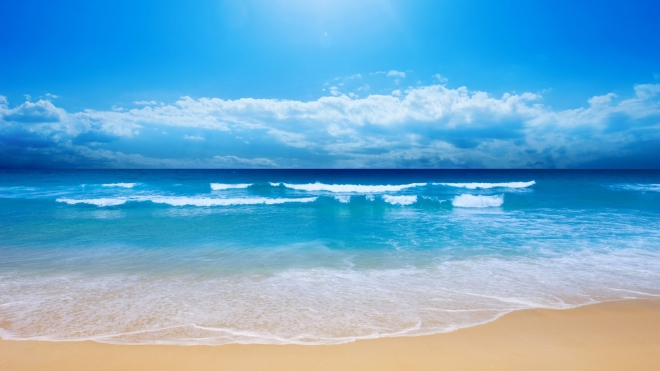 Beautiful Beach Desktop Wallpaper