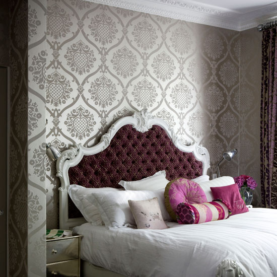 Bed Wallpaper Design