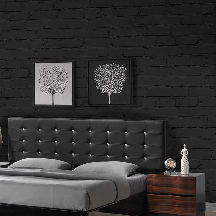 Bedroom Black Wallpaper