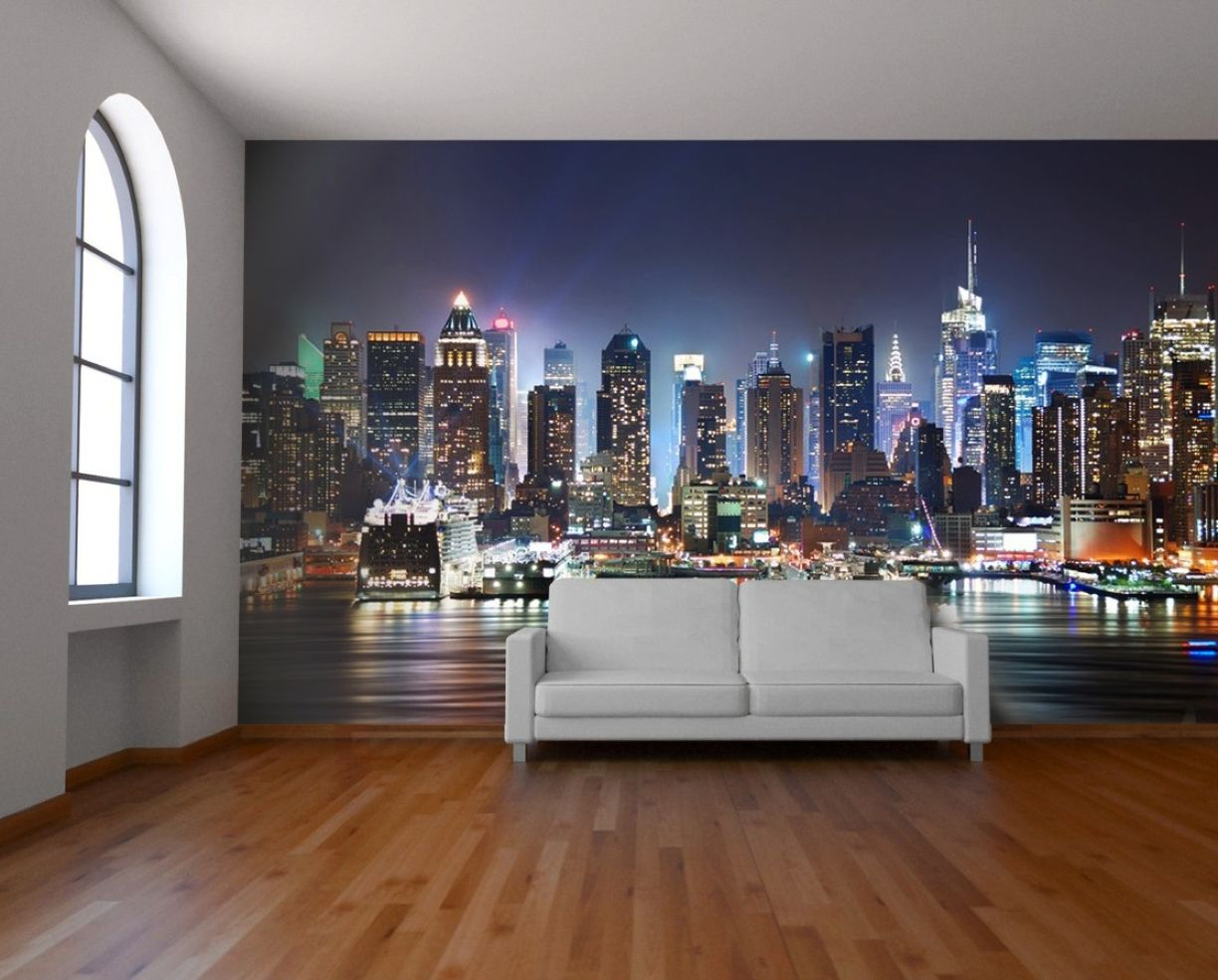 Bedroom City Wallpaper