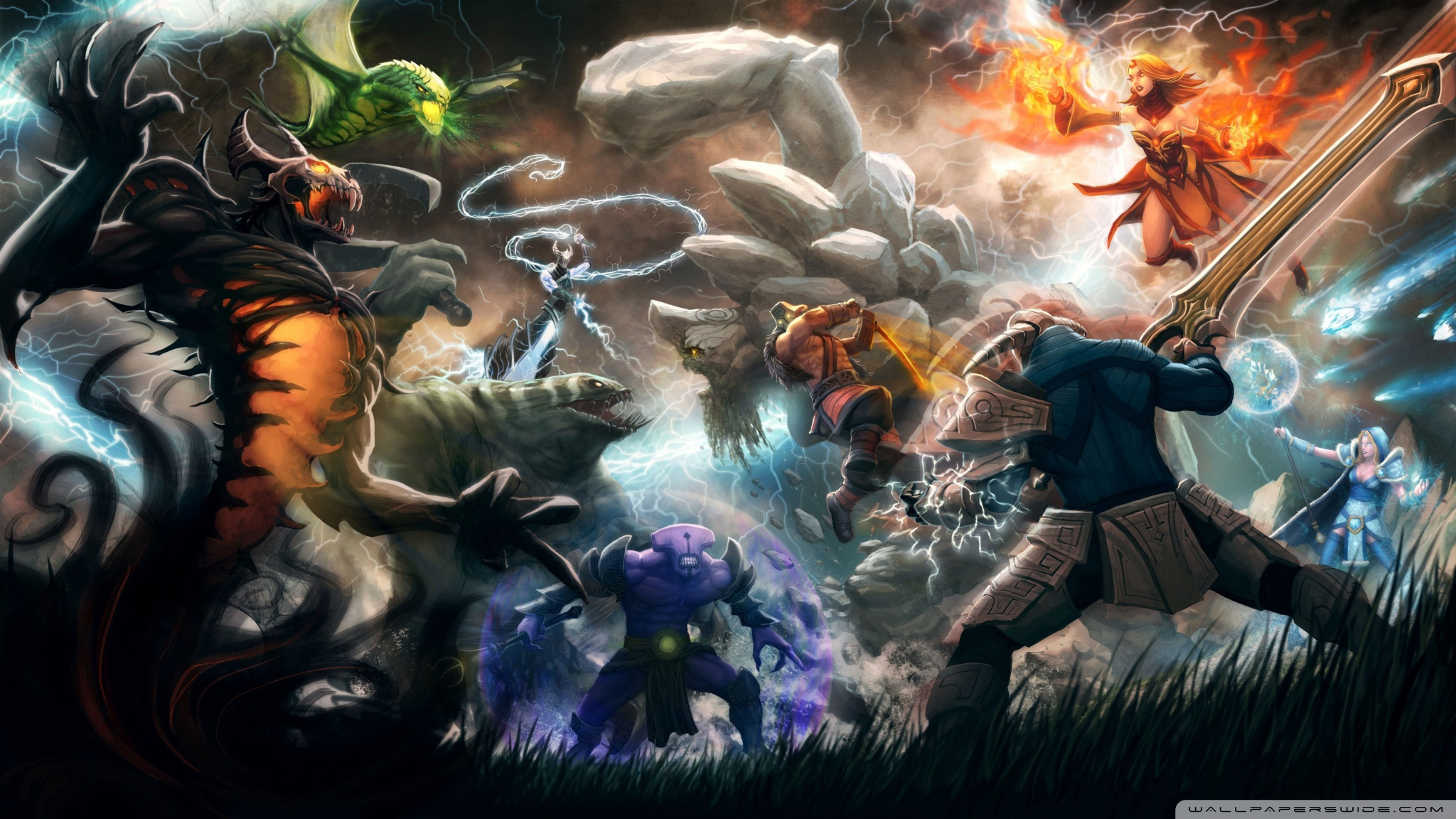 Best Dota 2 Wallpaper