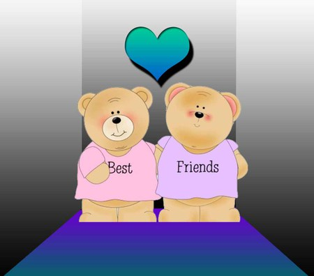 Best Friend Heart Wallpapers