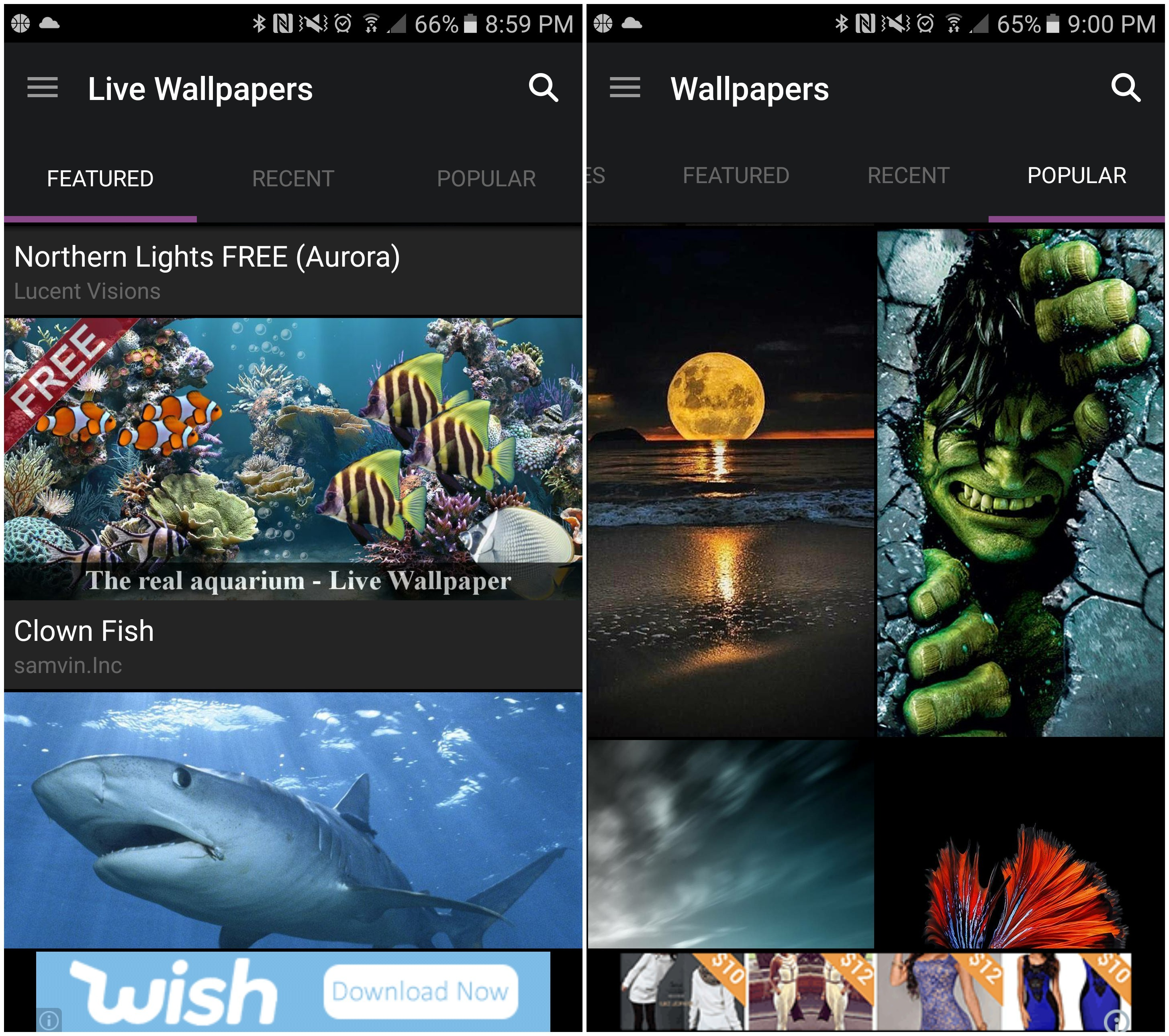 best paid wallpaper app for android