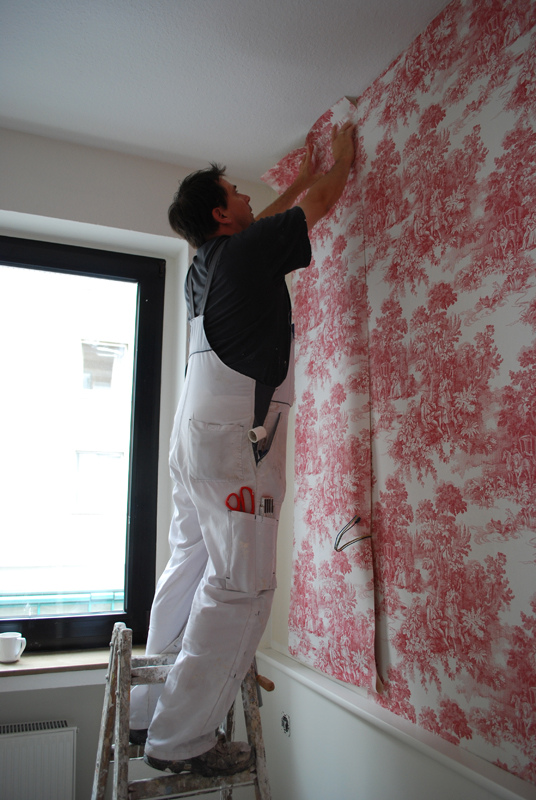 Best Way To Apply Wallpaper