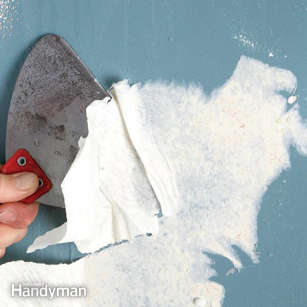 Best Way To Clean Walls After Removing Wallpaper