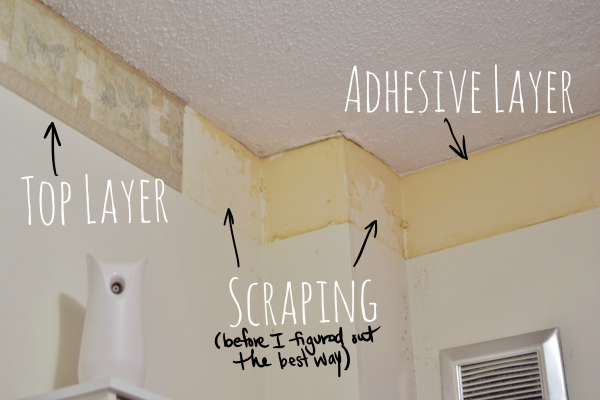 Best Way To Take Off Wallpaper Border