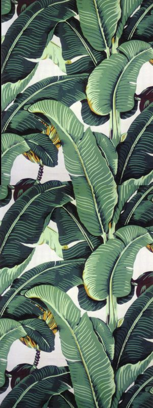 Beverly Hills Banana Leaf Wallpaper