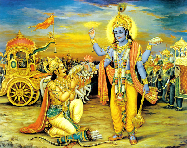 an analysis of the theme of call to arms in the bhagavad gita and agamemnon