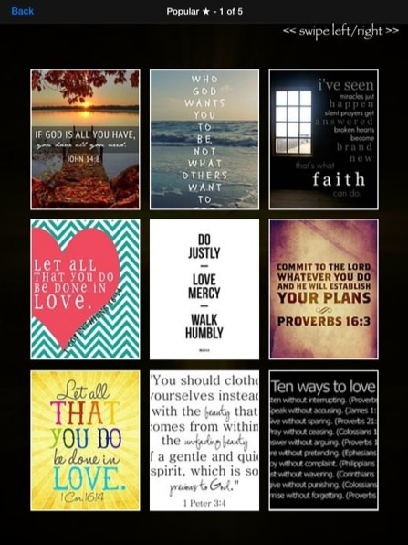 Bible Verse Wallpaper App