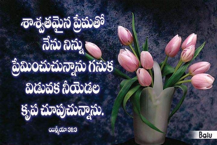 Bible Words Wallpapers In Telugu