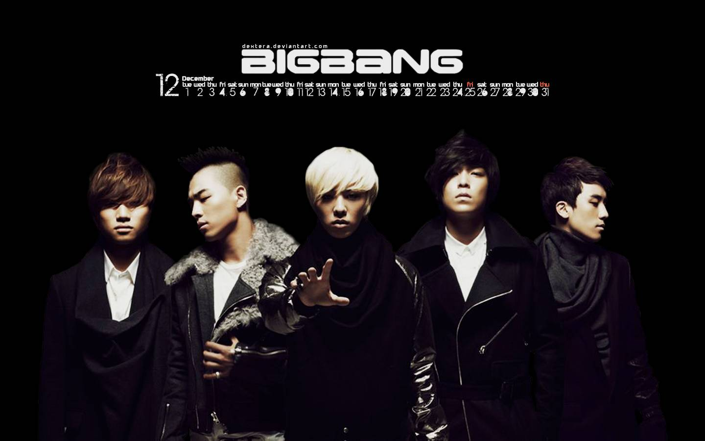 Big Bang Kpop Wallpaper