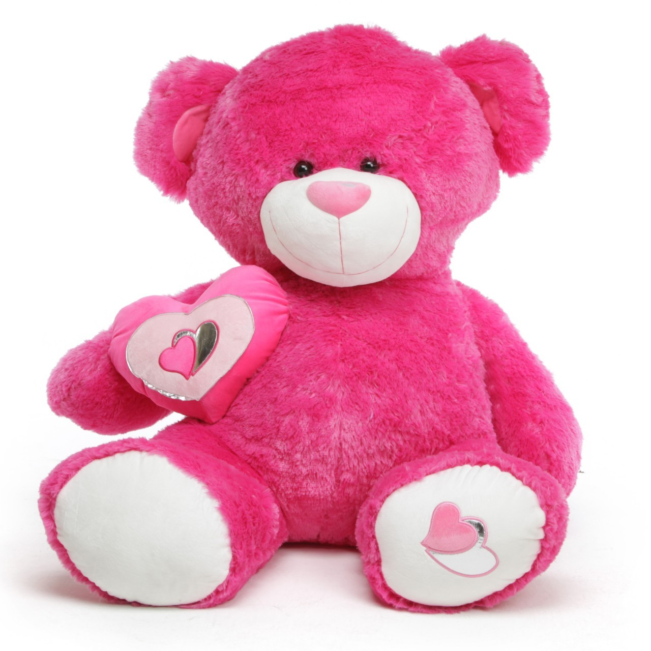 Big Pink Teddy Bear Wallpapers