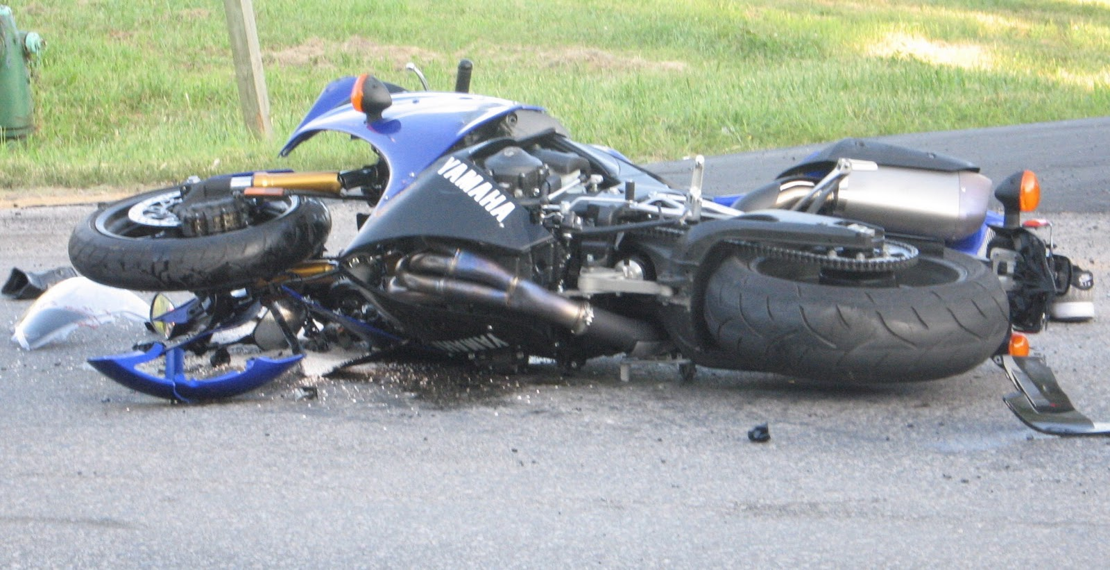 Bike Accident Wallpaper
