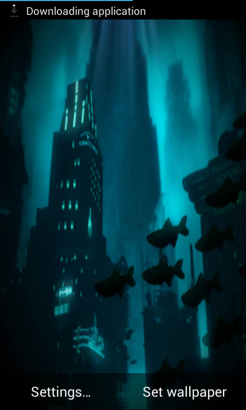 Bioshock Live Wallpaper