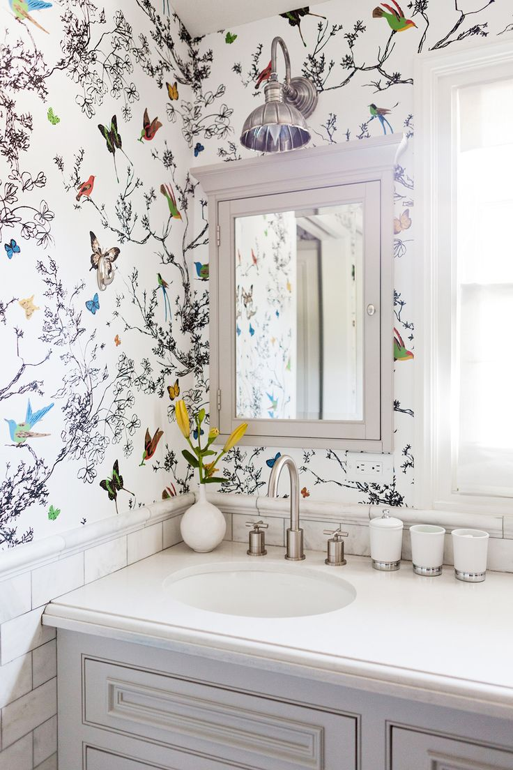 Bird Wallpaper For Bathrooms